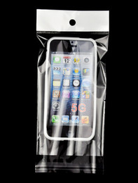 Wholesale Iphone Hard Silicone Clear - 5000pcs 15x9CM Clear OPP Bag Plastic Package Packaging For Iphone 4 5 5G Cellphone Hard Silicone Case cover