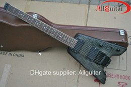 Discount headless guitars - 6 strings Headless Gray electric guitar China Guitar HOT SALE