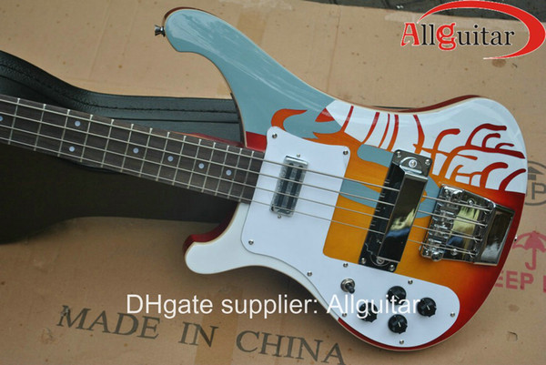 Left Handed 4003 electric bass Memorial Edition (black blue natural white are available)