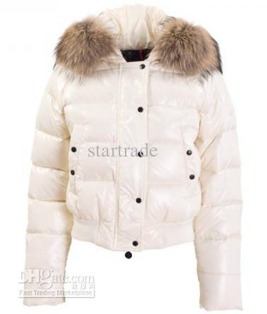 2017 Cheap Women's Down Coats White Winter Coat High Quality Fur ...