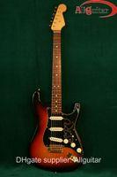 Wholesale Electric Guitar Sunburst St - SRV Stevie Ray Vaughn Vintage Sunburst ST electric guitar China Guitar