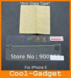 Wholesale Screen Protector Iphone5 Matte - Anti Glare Matte Screen Protector Film Guard Skin Case Cover for iPhone 5 5G iPhone5 HK Post 50pcs n