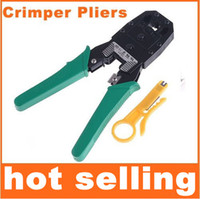 Wholesale Rj45 Tools - RJ45 RJ11 RJ12 Wire Cable Crimper Crimp PC Network Tool sell in youmvp