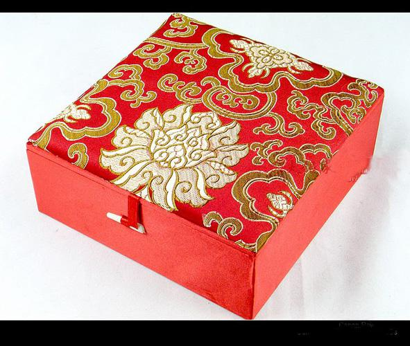 luxury extra large jewelry boxes for women cotton filled pearl necklace gift box high end silk - Decorative Gift Boxes