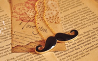 Hot Fashion jewelry Cute Mustache Pendant Retro Necklace Cop...