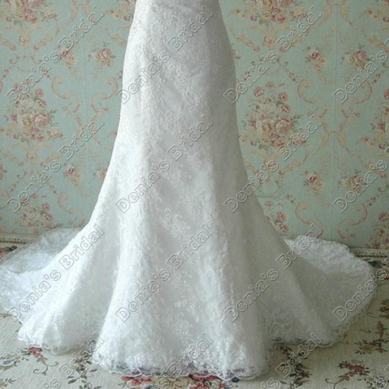 Vintage Lace Bröllopsklänningar 2017 Sweetheart Neckline Sequins Sparkling Beaded Lace Faktiska Bilder Brudklänningar DB265
