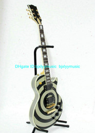 Wholesale Eye Guitar - Wholesale Newest Custom Shop Gray and Eye Electric Guitar TOP Musical instruments
