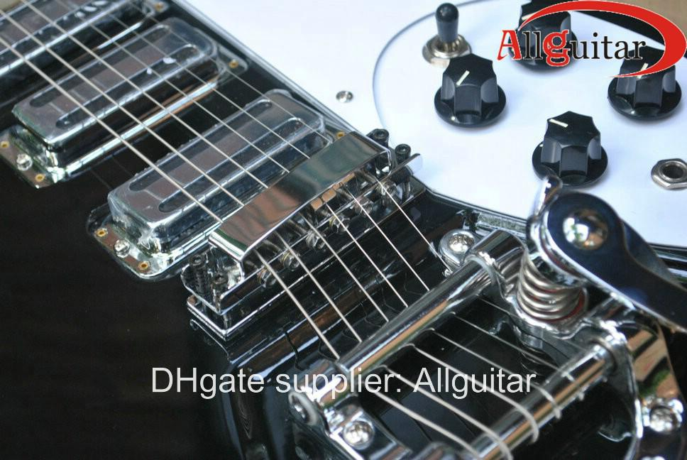 preto 325 381 330 360 modelo 3 pickups guitarra elétrica China guitarra VENDA QUENTE