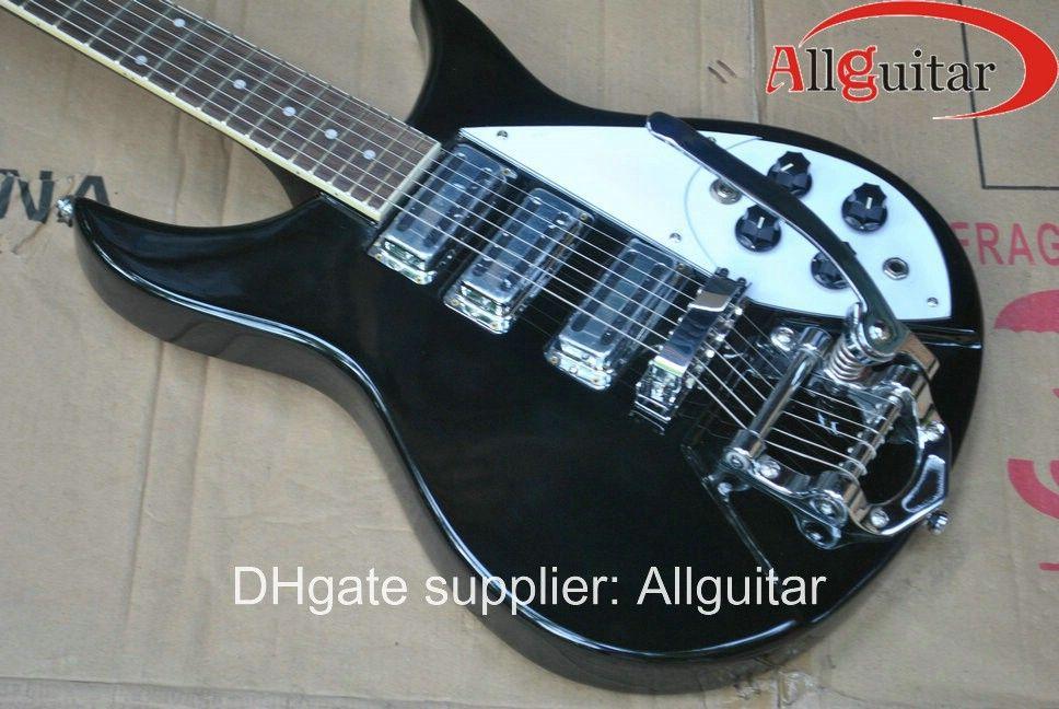 ブラック325 381 330 330 330モデル3ピックアップエレクトリックギター中国ギター熱い販売