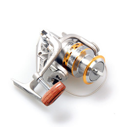 Wholesale Lures Sale - HENGJIA hot sale SG-3000A 5.1:1 GEAR RATIO Metal Spinning Reels Fishing Tackle Lure Fishing Reels