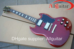 Chinese  HOT SALE red sg mahogany electric guitar Musical Instruments manufacturers
