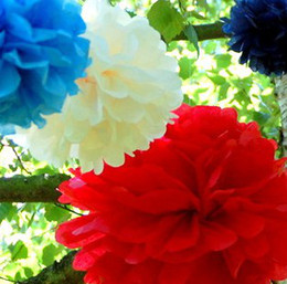"$enCountryForm.capitalKeyWord Canada - 10 pcs 8"" 9 Colors Tissue Paper Pom Poms Flower Balls new year Christmas party Wedding party Deco"