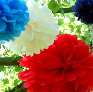 """10 pcs 8"""" 9 Colors Tissue Paper Pom Poms Flower Balls new year Christmas party Wedding party Deco"""