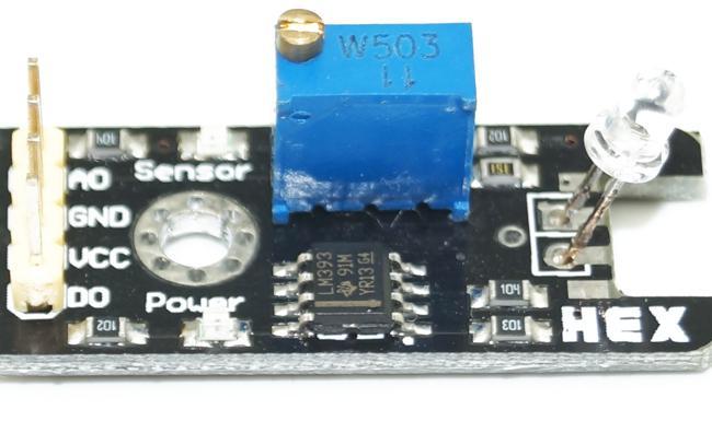 Lichtsensormodul Photodiodenmodul für Lichterkennung 3-5.5V DC Kostenloser Versand # BV115 @CF