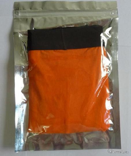 Livraison gratuite HongKong marque originale à la mode mens coton mélangé brodfs boxers mémoires Sexy Underpants Mens Underwear