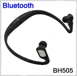 Wholesale Bluetooth Bh - BH505 Wireless Bluetooth Headphone BH-505 In Ear Bluetooth Headset