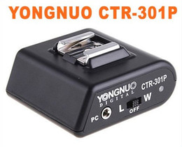 YONGNUO CTR-301P Wireless Flash Sync Trigger 1x Ricevitore 1x Trasmettitore on Sale