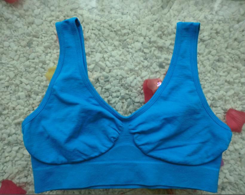 상위 판매 !! 9 색 원활한 스포츠 브래지어 패션 섹시한 여자 브래지어 색상 브래지어 요가 브래지어 선택 6 크기