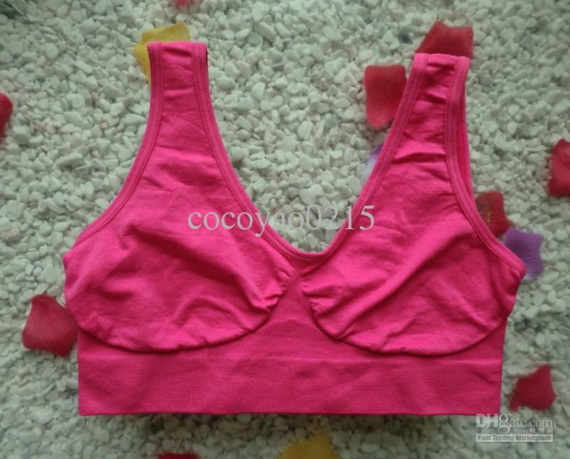 Högkvalitativ 9 färger Seamless Sport Bra Fashion Sexy Bra Yoga Bra 6 Storlek Fabrik direktförsäljning