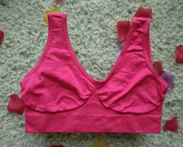 China High Quality Seamless Bra Microfiber Pullover Bra Body Shape Sport Bra 1000pcs suppliers