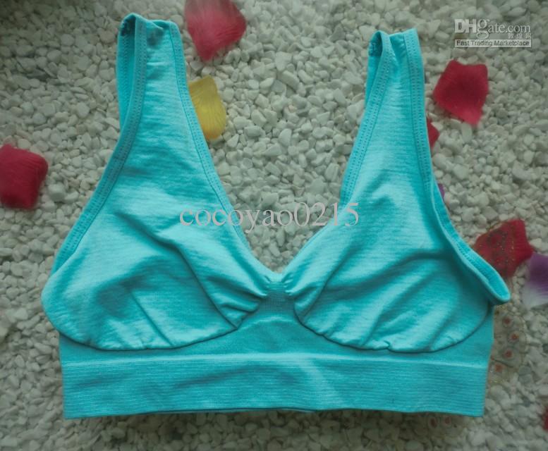 Qualität 9 Farben Nahtlose Sport BH Mode sexy BH Yoga BH 6 Größe Fabrik Direktverkauf