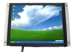 industrial lcd screens UK - 8 Inch Open Frame SKD HL-808B Monitor with Touch Screeen for IPC , industrial pc monitor , pos display , mini-itx pc monitor