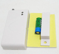 Wholesale Gsm Pstn Alarm Systems - New Extra Door Window Gap Magnetic Sensor for Wireless GSM PSTN Alarm System Security Accessories