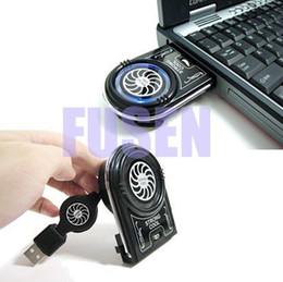 Wholesale Mini Vacuum Case Cooler - Notebook Laptop Mini Vacuum USB Case Cooler Cooling Fan