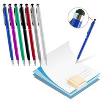 Wholesale iphone 4s pens resale online - Capacitive in Multi Touch Screen Stylus and Ball Point Pen for Cellphone iphone S