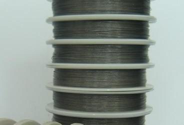 señuelo de alambre de pesca de acero inoxidable 7 filamentos cebo línea líder resistente