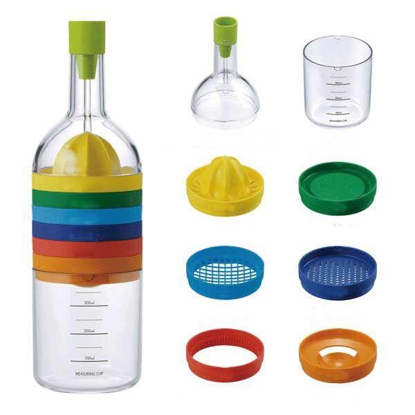 8 In 1 Multifunction Kitchenware Gadgets Portfolio Bottle Shape Kitchen  Tools Japanese Kitchen Tools Gadgets Joie Kitchen Gadgets From Aixinjllj,  ...