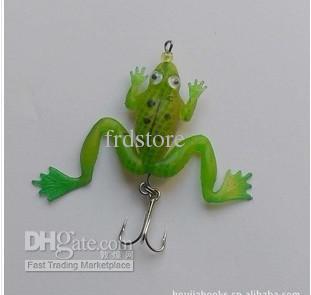 6cm length lure fishing soft frog lure