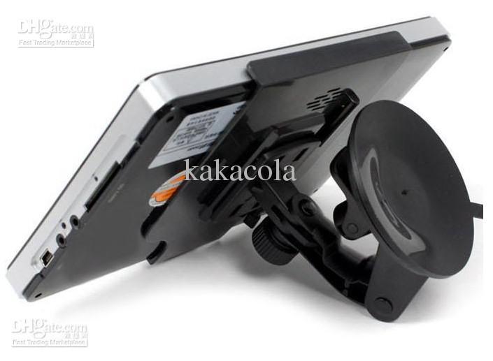 Modelo de GPS do carro de 7 polegadas HD Universal 4 GB de Memória Livre Mapas Windows CE 6.0 Kakacola Nova Chegada