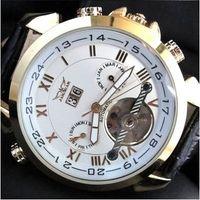ingrosso oro jaragar-jaragar tourbillion designer mens orologi meccanici automatici da uomo in acciaio inossidabile da immersione orologi da polso in oro