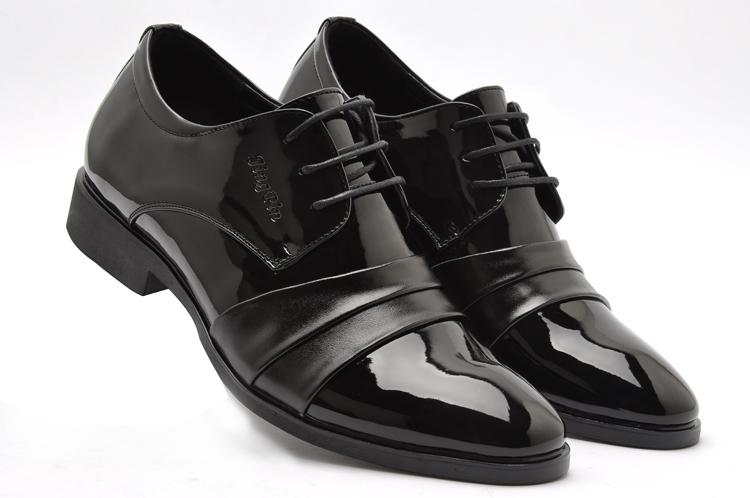Low Price Sell Mens Wedding Shoes Prom Dress Black