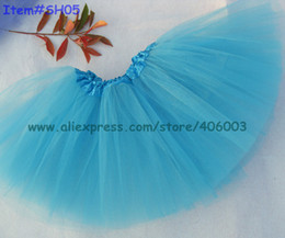 $enCountryForm.capitalKeyWord Canada - Free shipping halloween kid dance up skirt tutu pettiskirt turquoise tutus for grils 40pcs lot by EMS