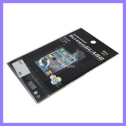 Wholesale Iphone 5g Screen Protector - Clear Screen Protector for iPhone 5 5G Screen Guard
