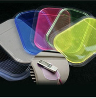 Wholesale Magic Car Sticky Pad - Car Dashboard Sticky Pad Magic Anti-Slip Non-slip Mat for Pad Phone PDA mp3 mp4 12pcs EwinExpress