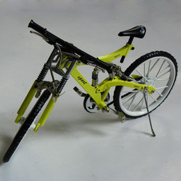 Wholesale Model Bike Kits - Toyes Collection MINI BIKE MODEL ASSEMBLY KIT bicycle model arts and crafts free shipping