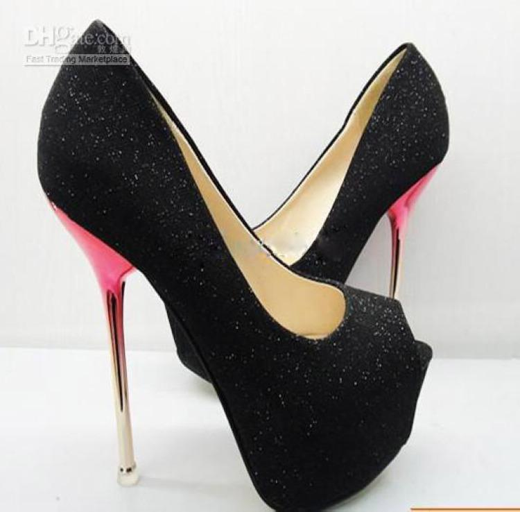 Womens High Heel Shoes - Qu Heel