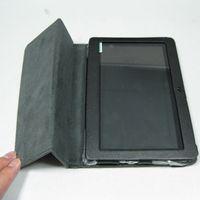 "Wholesale Haipad A13 Black - colorful 7"" flip leather case for Haipad Q88 Allwinner A13 Q8 tablet pc protect skin free shipping"