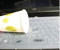 """Wholesale Dustproof Computer Keyboards - soft silicone 14""""keyboard protector film cover skin for computer notebook"""