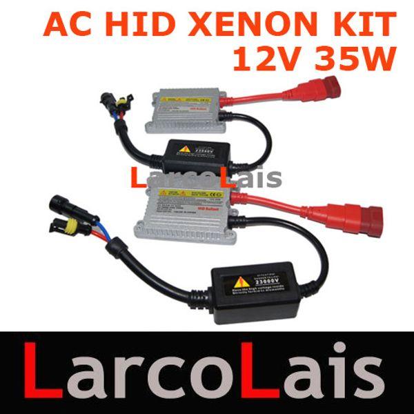 top popular Free Shipping HID Xenon Ballast Kit AC Ultra Slim Ballast 12V 35W 2019