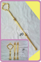 Wholesale Cake Stand Handles Wholesale - Free Shipping 20Set lot Cake Stnd Fittings 3 Tier Cake Stand Centre Handle