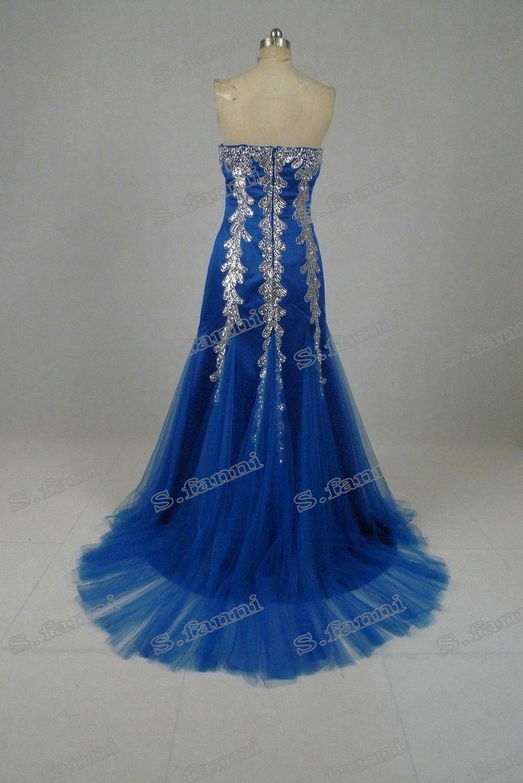 Más vendido !! Sin Riesgo Barato Nueva Llegada Sweetheart Beads Sirena Tul Vestido de Fiesta PD016