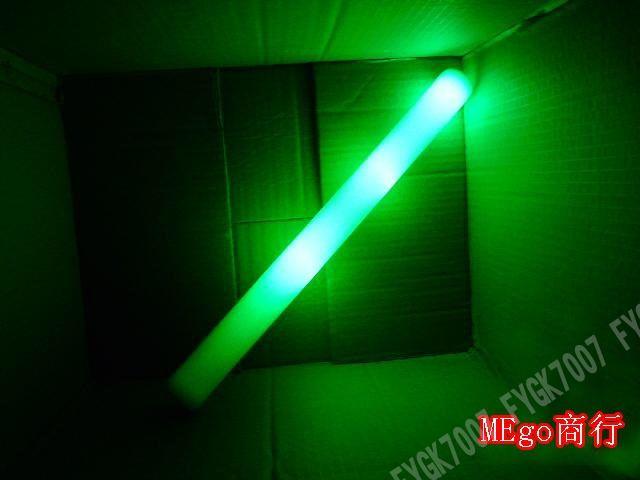 LED Colorful rods led foam stick flashing foam stick, light cheering glow Sponge stick foam led free EMS