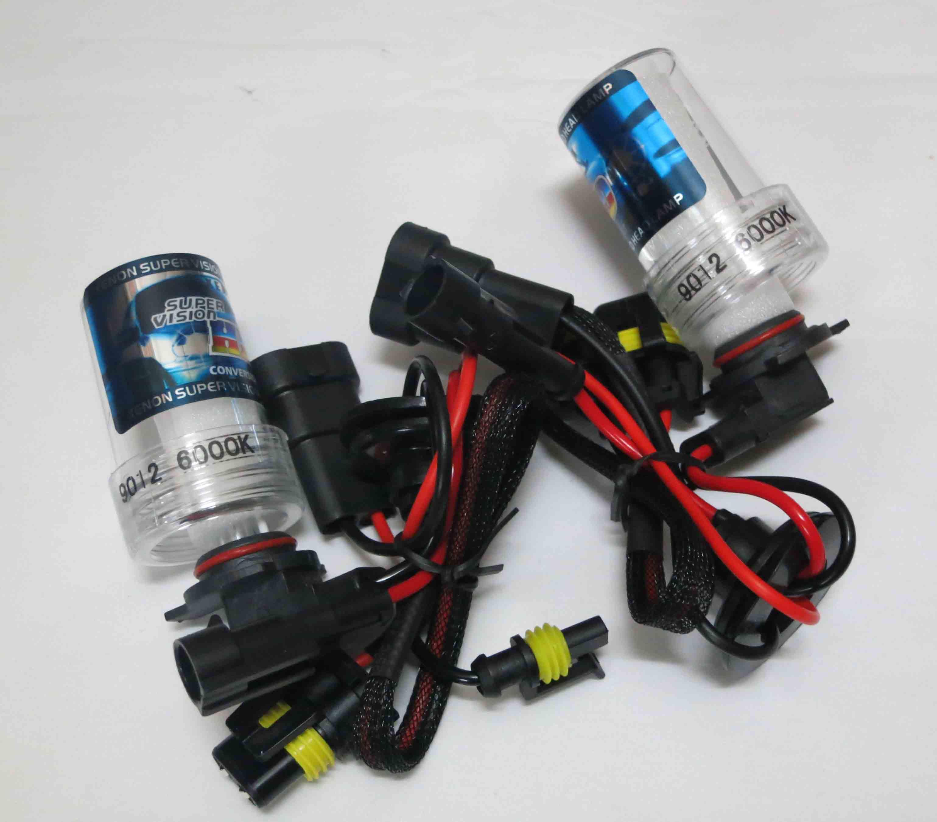 1 세트 35W 9012 H1R2 슬림 밸러스트 HID 크세논 키트 포드 엣지 용 12V Toyota IQ Lexus GS350 Boss302