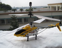 Wholesale mini helicopter syma - Syma S107 RC Helicopter 3 Channel Dragonfly Helicopter Mini Remote Control Aircraft