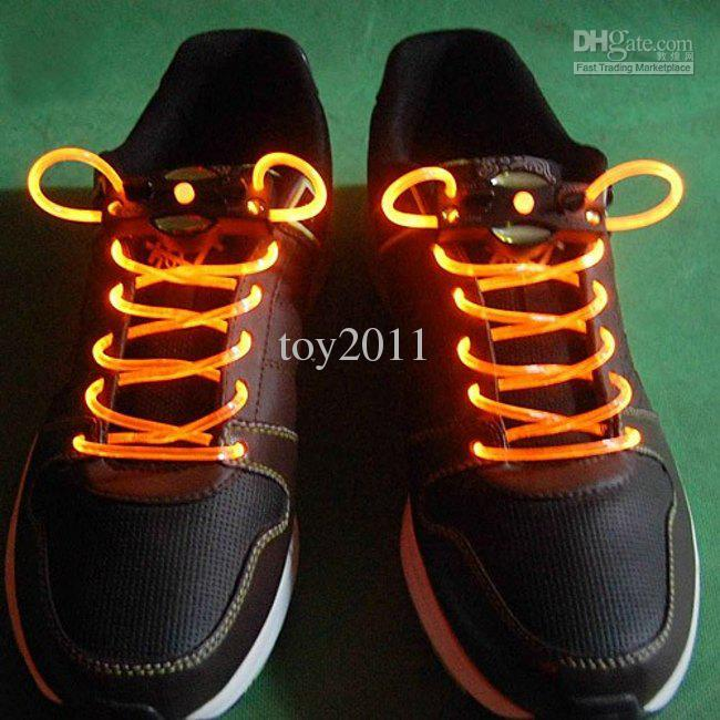 2017 Venta Caliente Limitada Año Nuevo de Chirstmas Halloween Matrix Led Fashional 50 Pares Lote Led Light Up Shoelaces Disco Disco Blister Blister Card