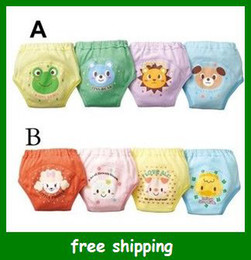 Wholesale Nissen Baby Shorts Pants - Nissen Baby pants training underpants 4 layers pant shorts pp warmers nappy diapers Free shipping